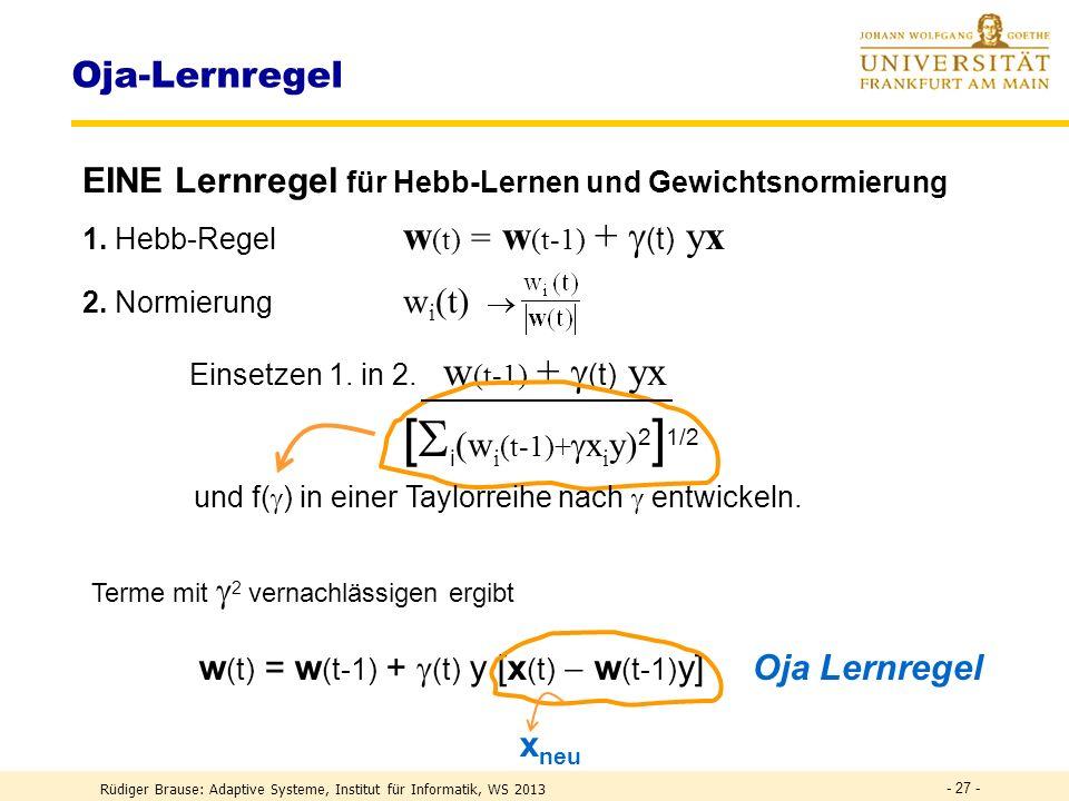 und f() in einer Taylorreihe nach  entwickeln.