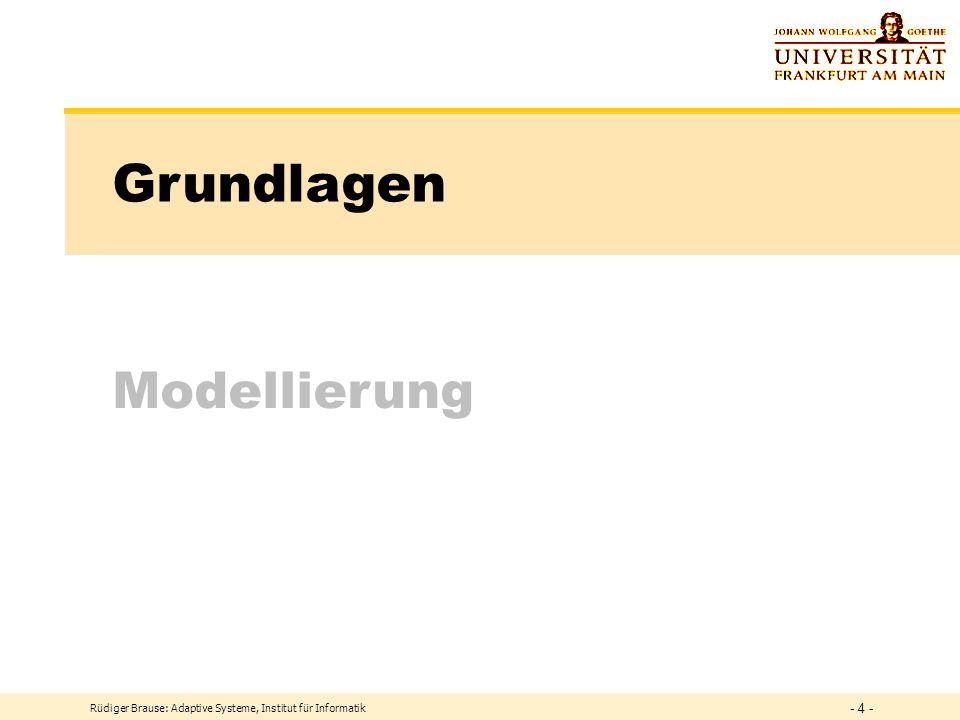 Grundlagen Modellierung