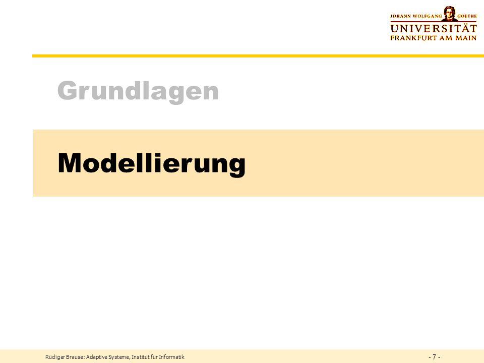 Modellierung Grundlagen