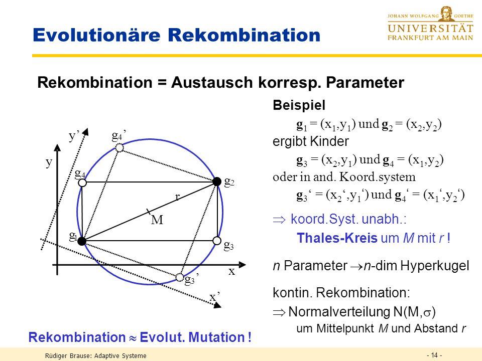 Evolutionäre Rekombination