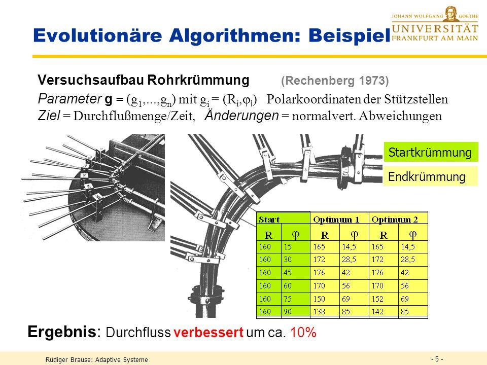 Evolutionäre Algorithmen: Beispiel