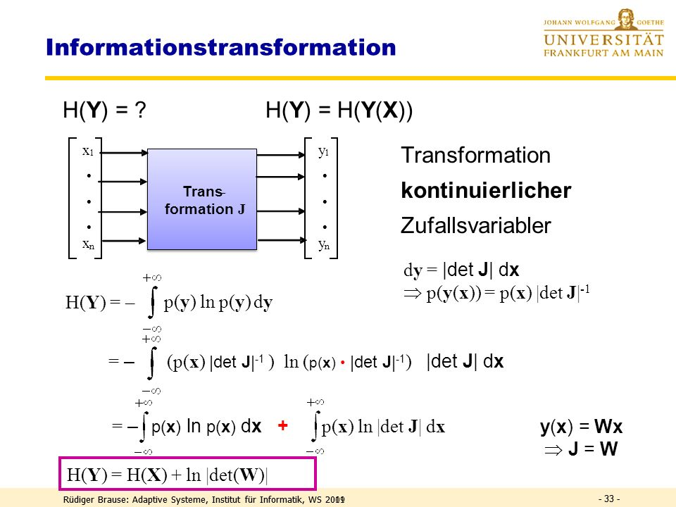 Informationstransformation