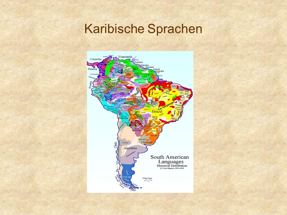 Karibische Sprachen
