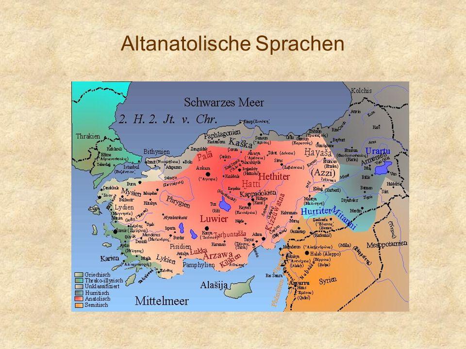 Altanatolische Sprachen