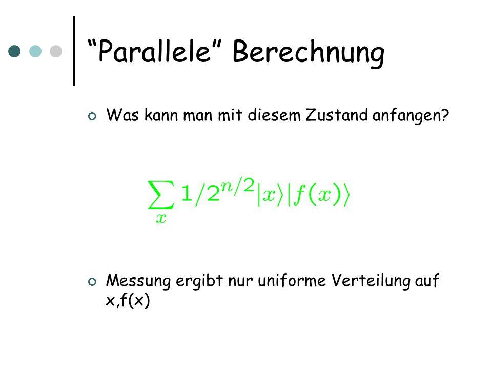 Parallele Berechnung