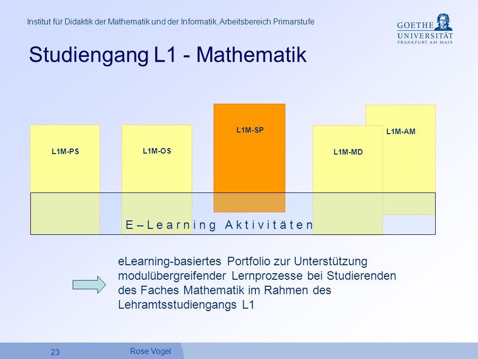 Studiengang L1 - Mathematik