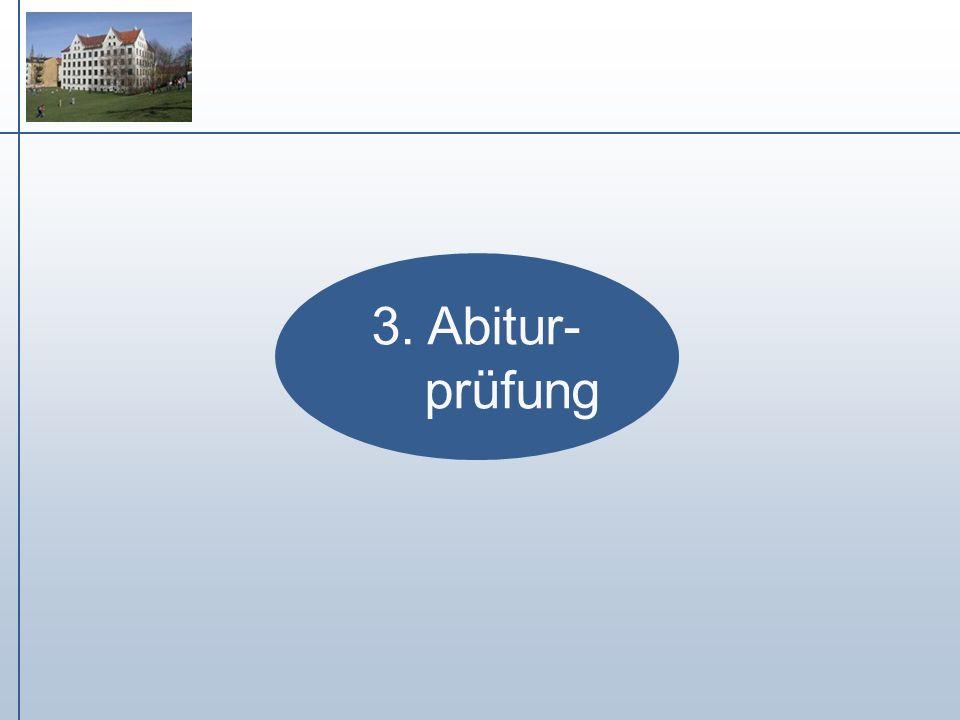 3. Abitur- prüfung