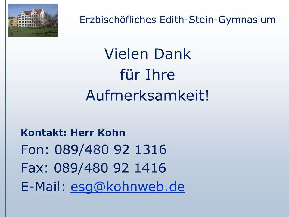 Erzbischöfliches Edith-Stein-Gymnasium