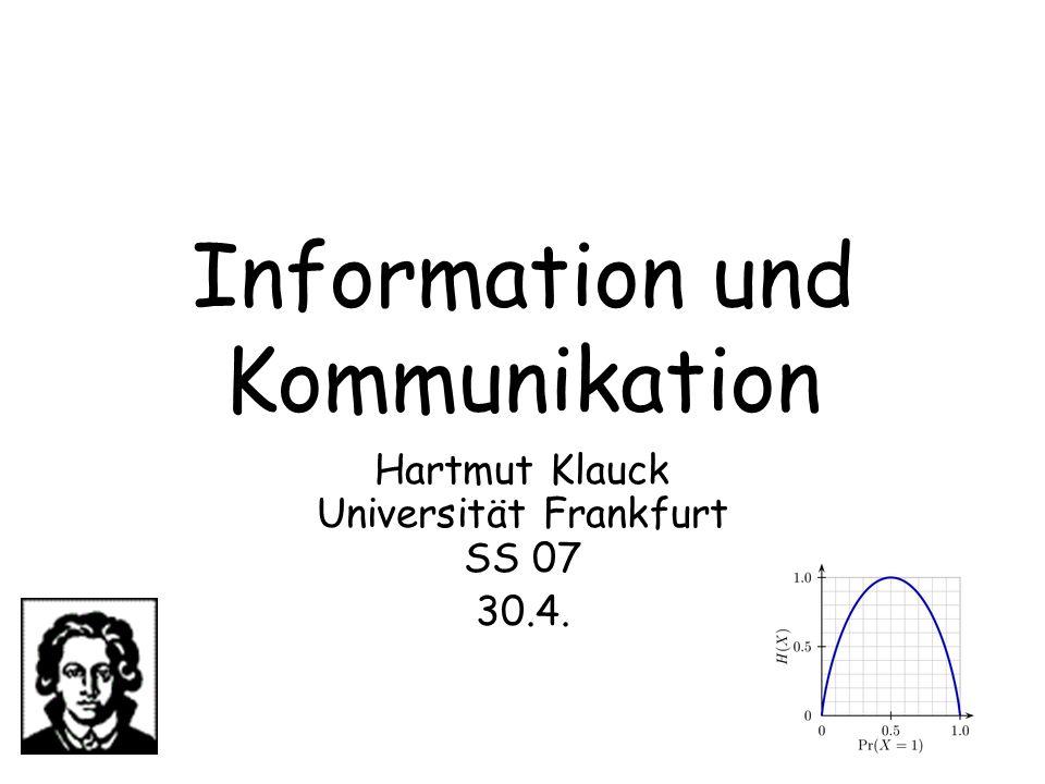 Information und Kommunikation