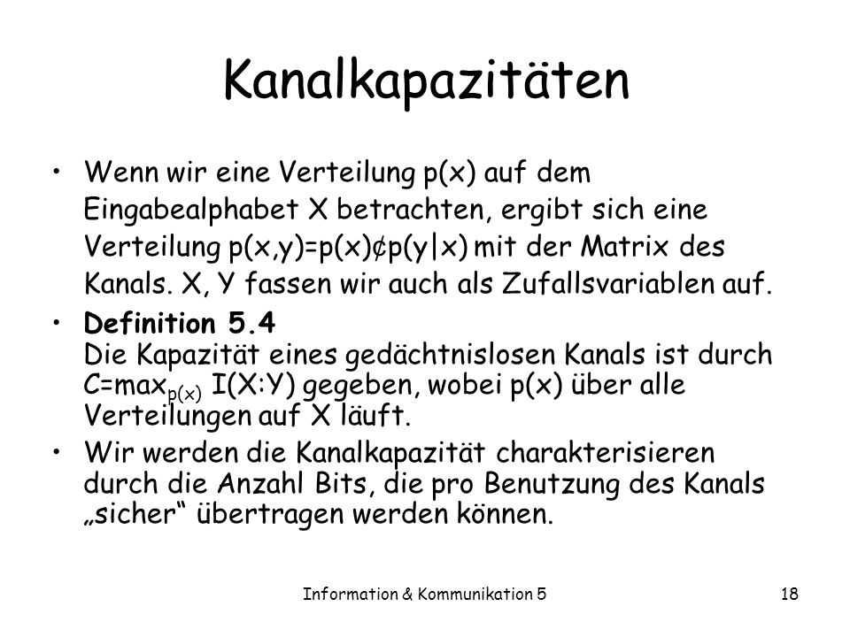 Information & Kommunikation 5