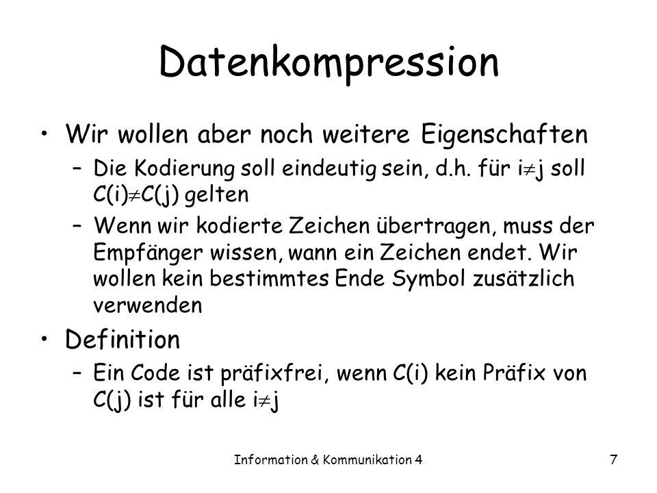 Information & Kommunikation 4