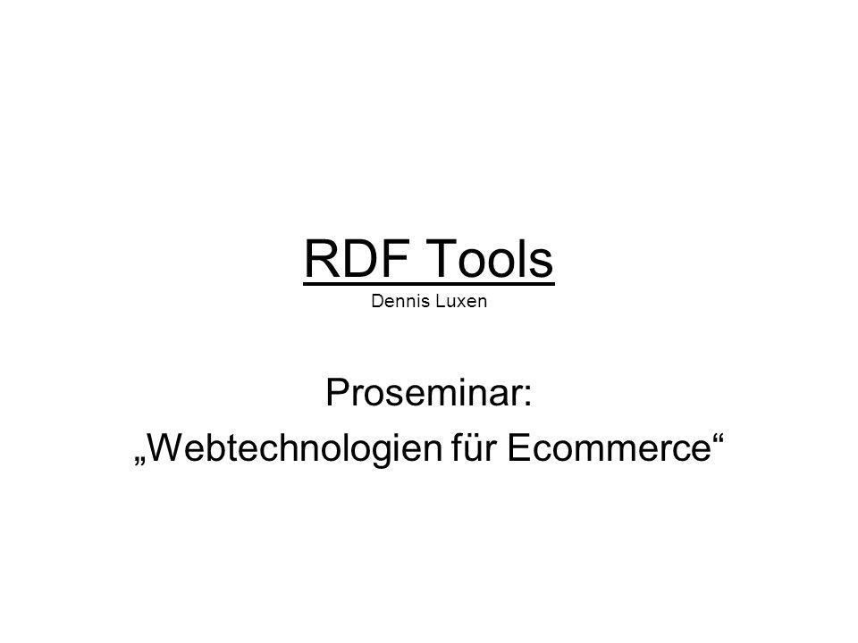 """Proseminar: """"Webtechnologien für Ecommerce"""