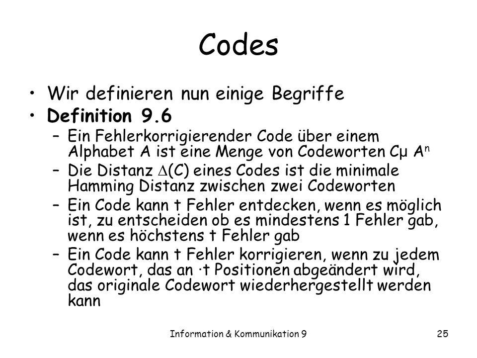 Information & Kommunikation 9