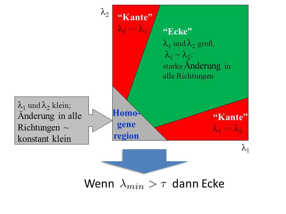 Wenn dann Ecke 2 Kante 2 >> 1