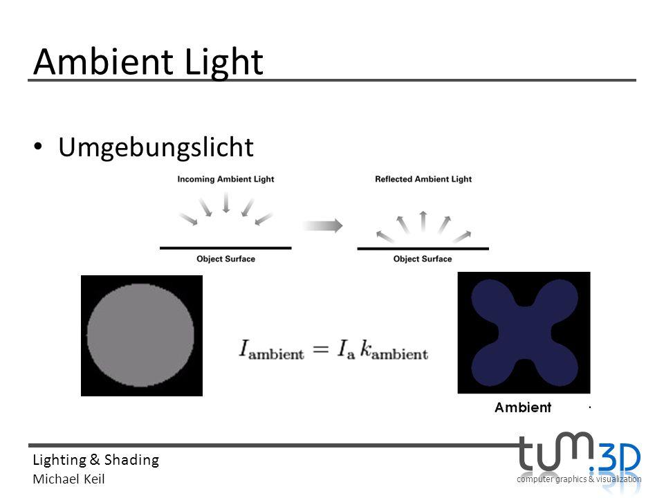 Ambient Light Umgebungslicht