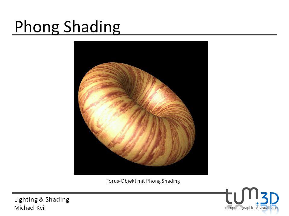Phong Shading Torus-Objekt mit Phong Shading