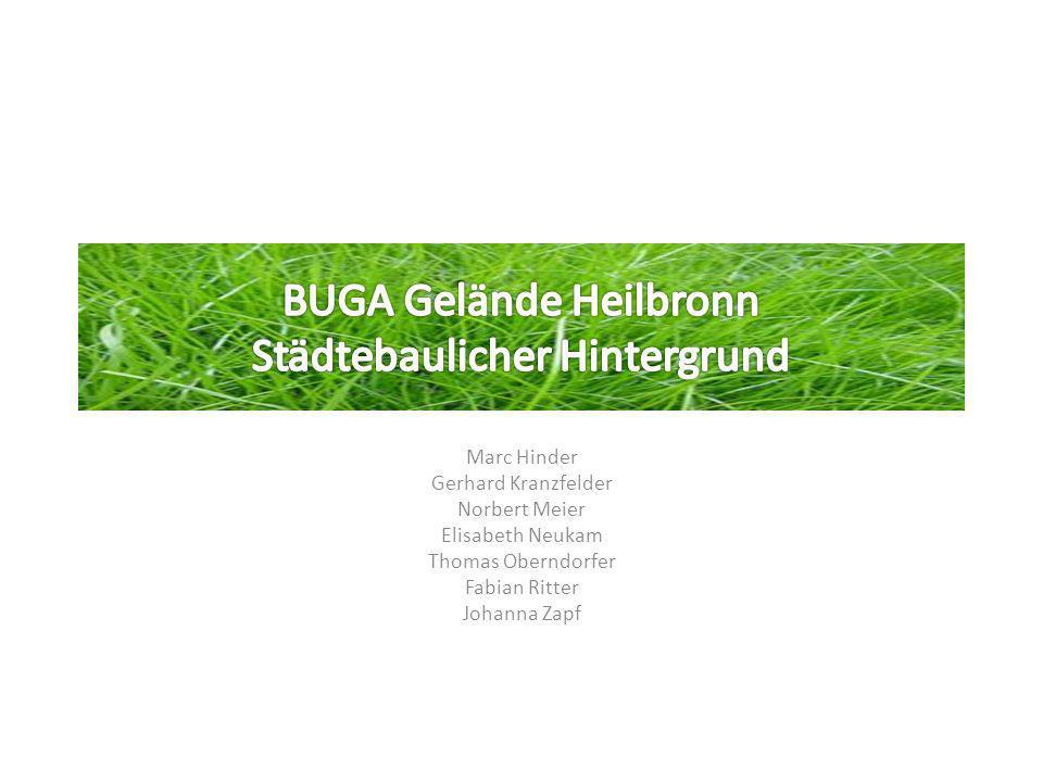BUGA Gelände Heilbronn Städtebaulicher Hintergrund