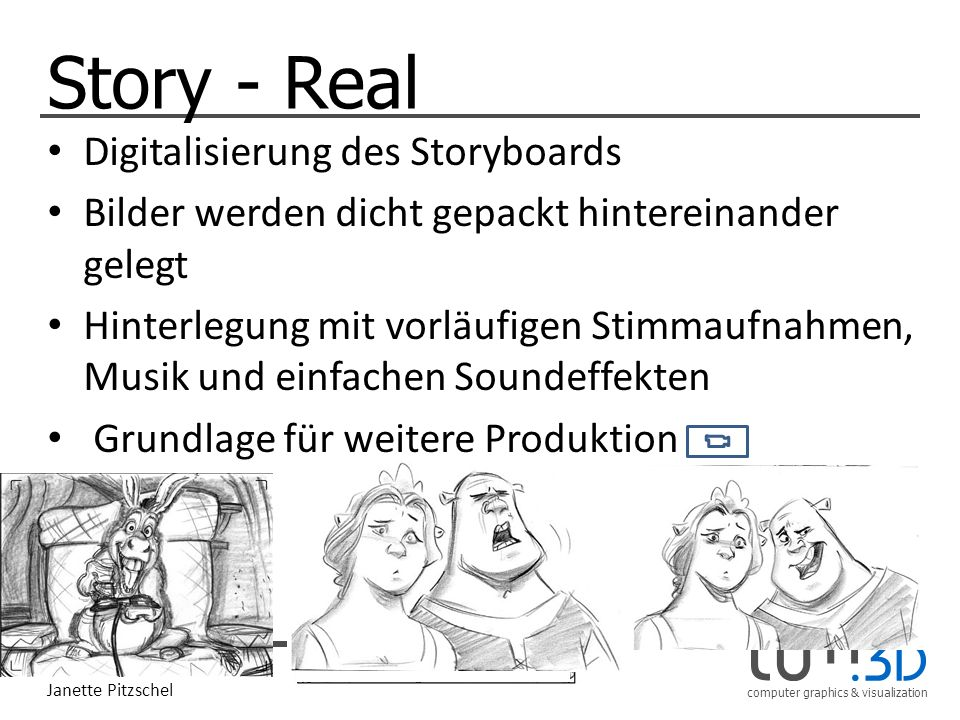 Story - Real Digitalisierung des Storyboards