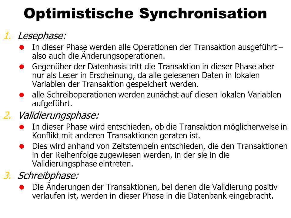 Optimistische Synchronisation