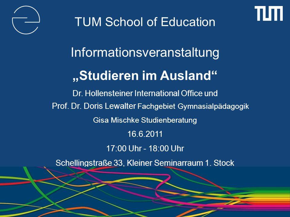 TUM School of Education