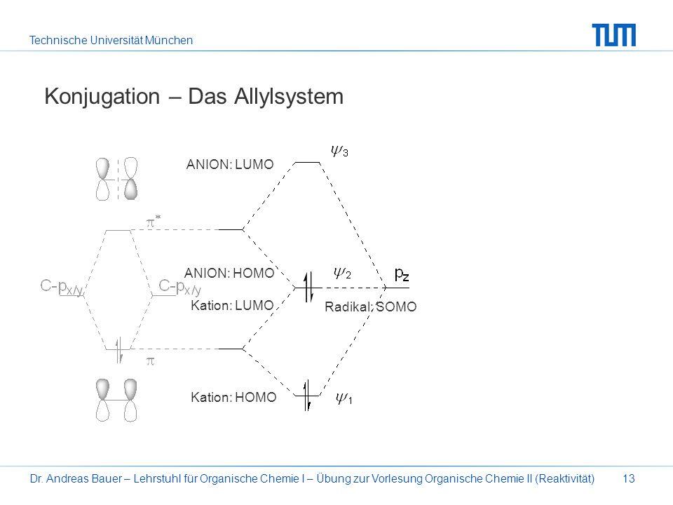 Konjugation – Das Allylsystem
