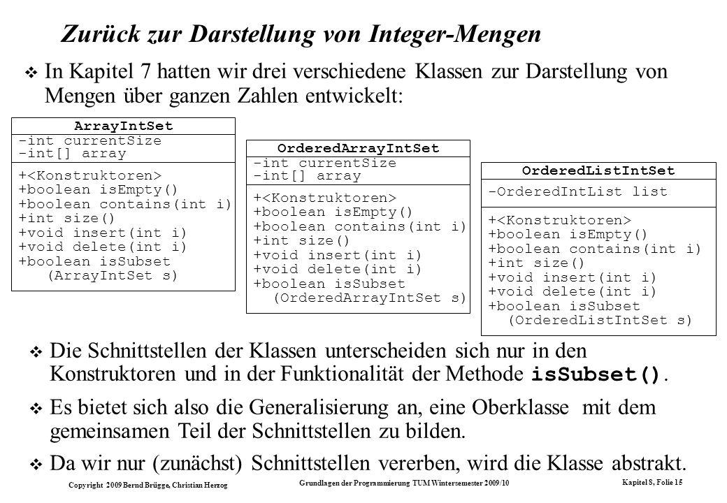 Zurück zur Darstellung von Integer-Mengen