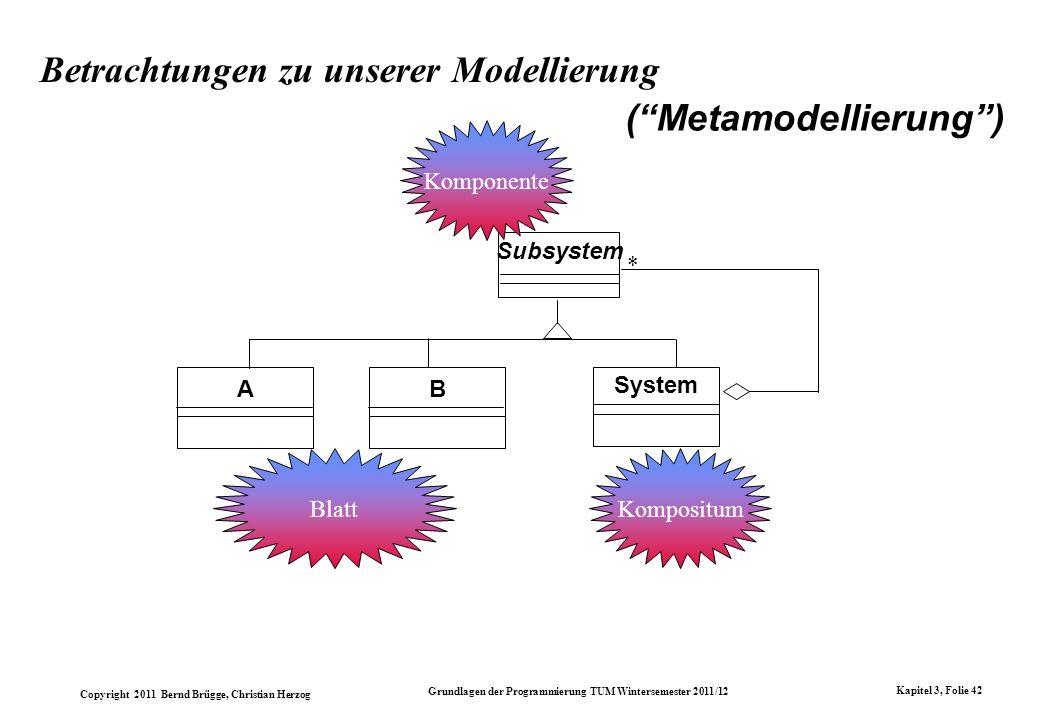 Betrachtungen zu unserer Modellierung
