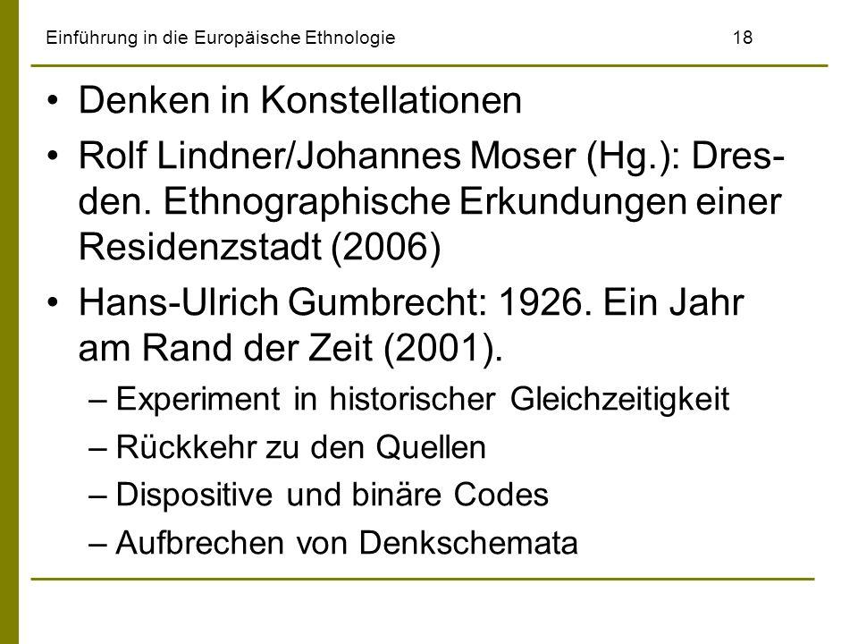 Einführung in die Europäische Ethnologie 18