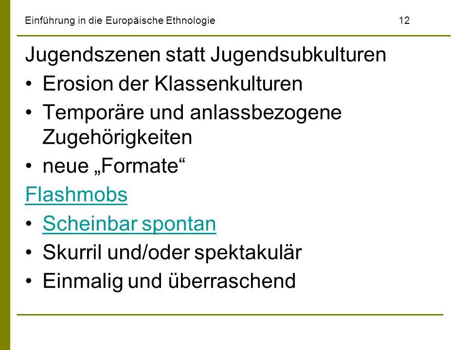 Einführung in die Europäische Ethnologie 12