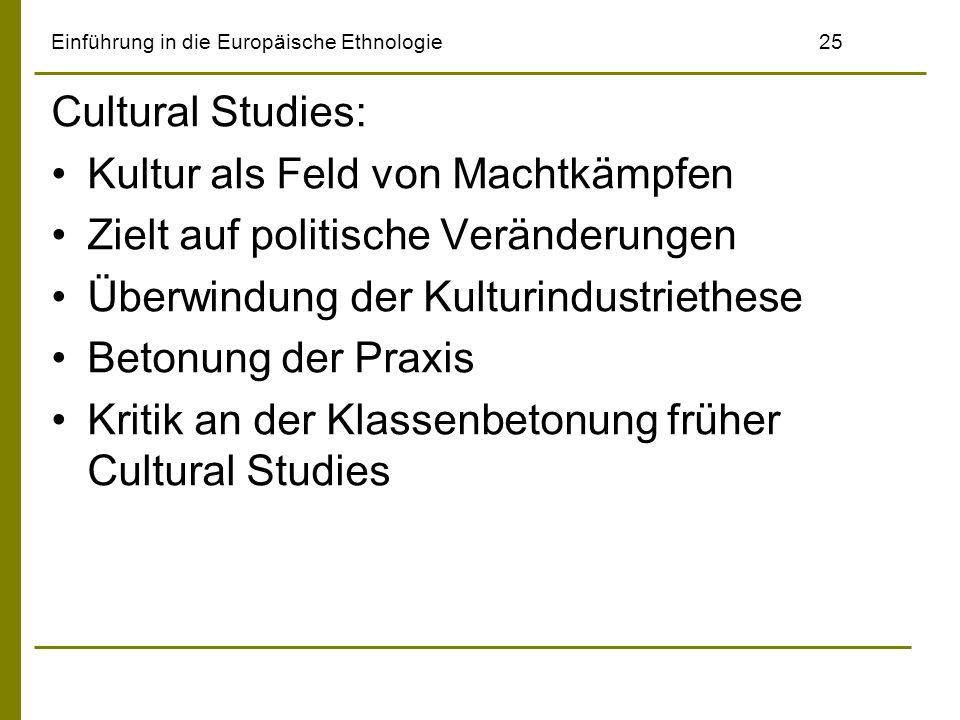 Einführung in die Europäische Ethnologie 25