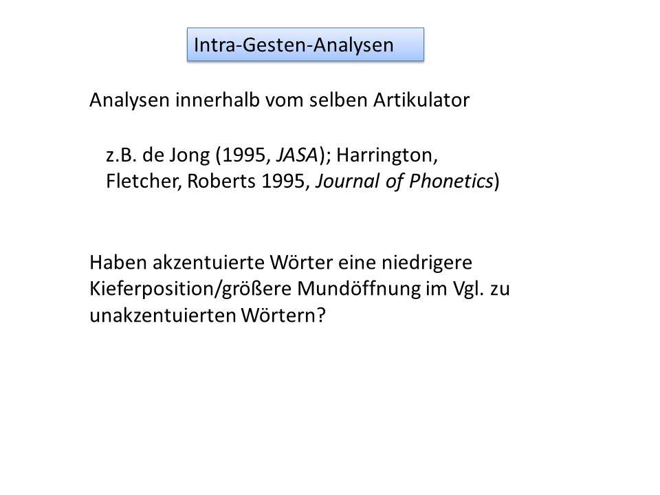 Intra-Gesten-Analysen