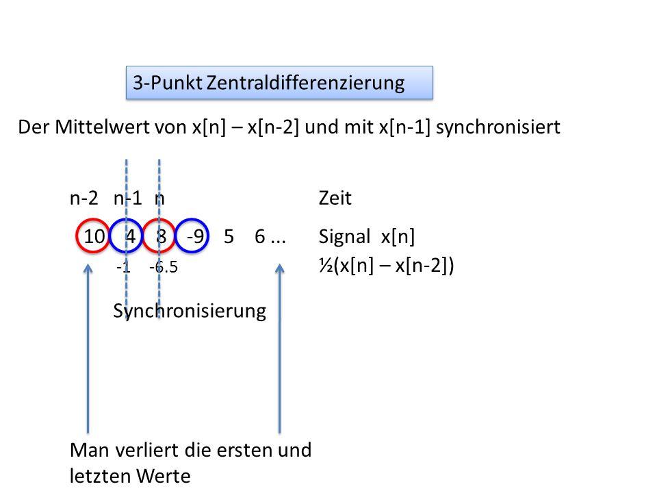 3-Punkt Zentraldifferenzierung