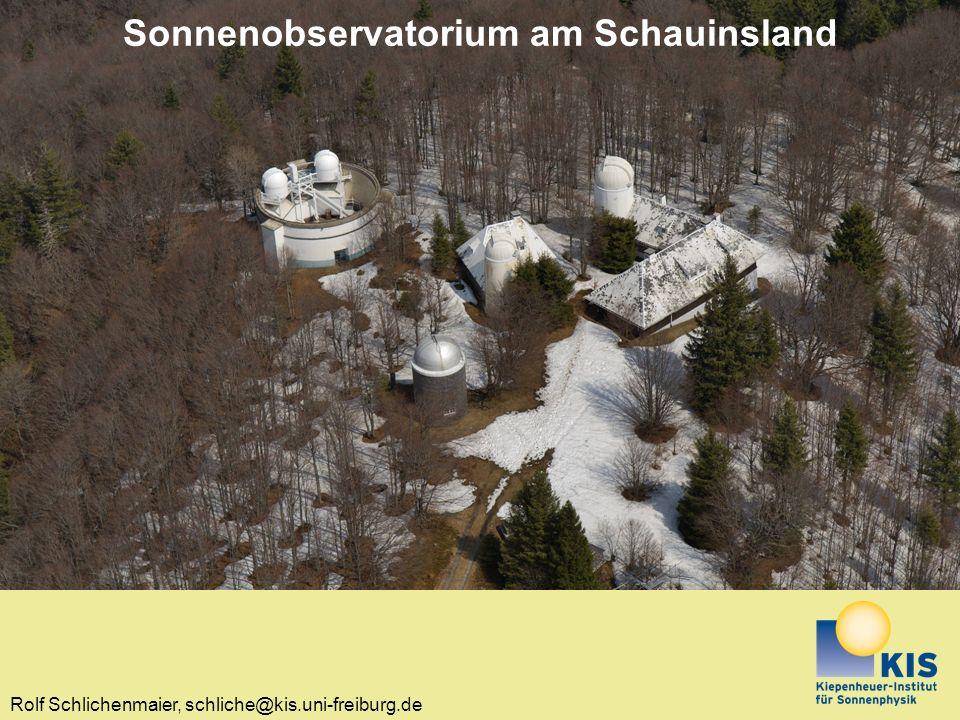 Sonnenobservatorium am Schauinsland