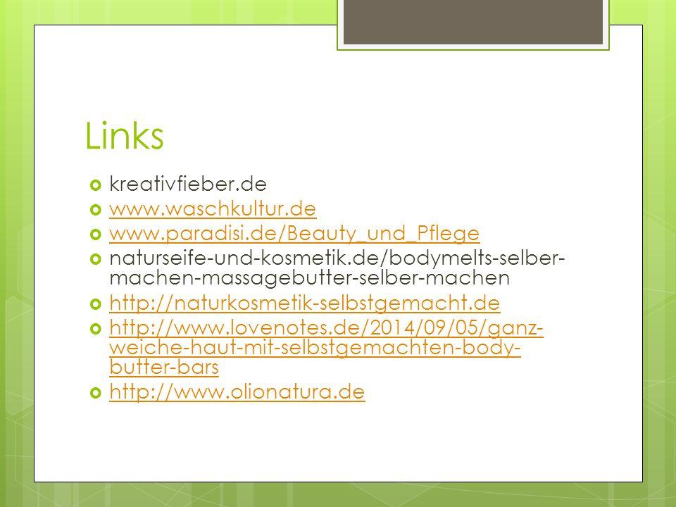 Links kreativfieber.de www.waschkultur.de