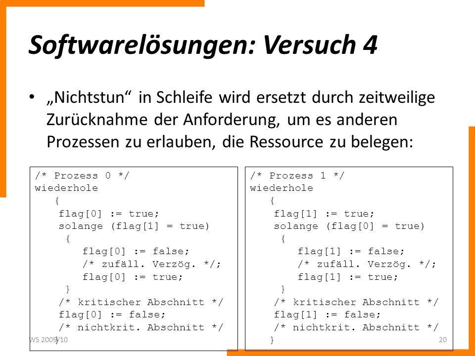 Softwarelösungen: Versuch 4