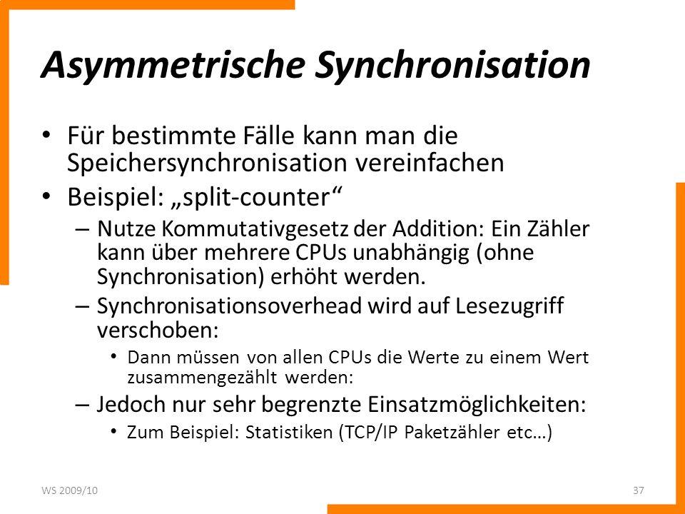 Asymmetrische Synchronisation