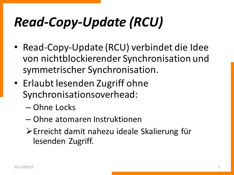 Read-Copy-Update (RCU)