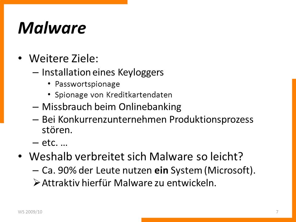 Malware Weitere Ziele: Weshalb verbreitet sich Malware so leicht