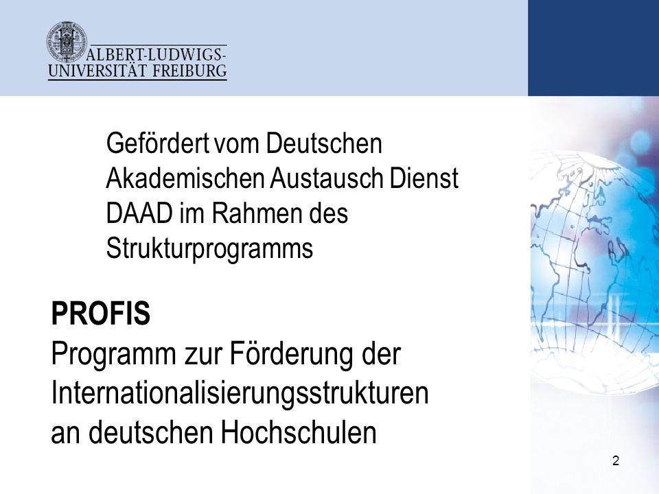 Gefördert vom Deutschen Akademischen Austausch Dienst DAAD im Rahmen des Strukturprogramms