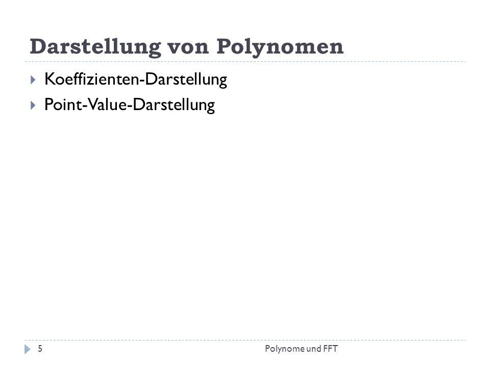 Darstellung von Polynomen