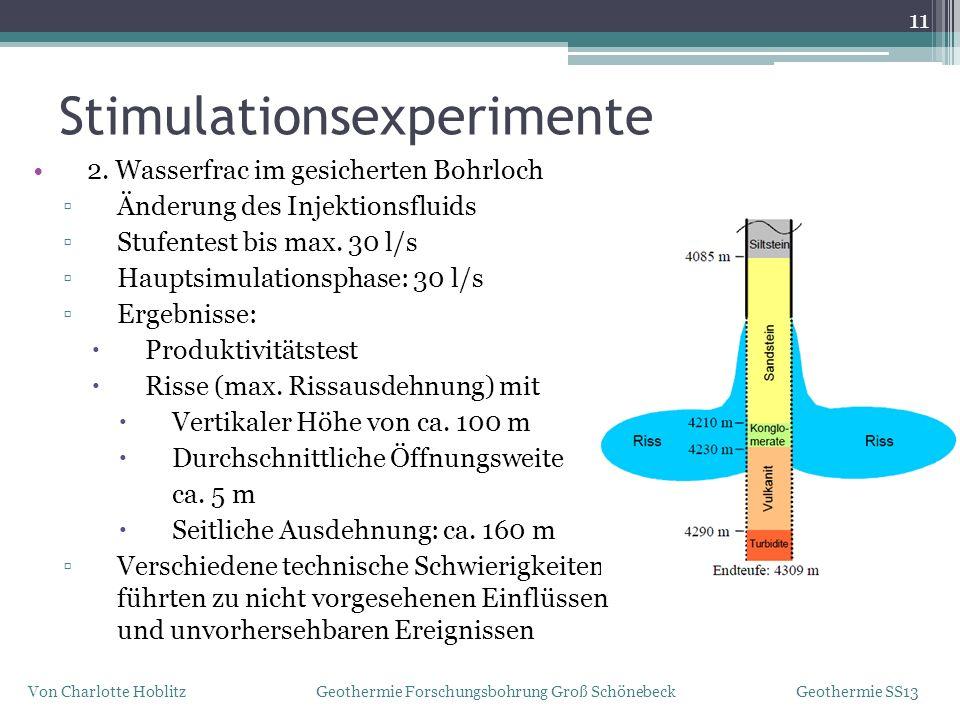 Stimulationsexperimente