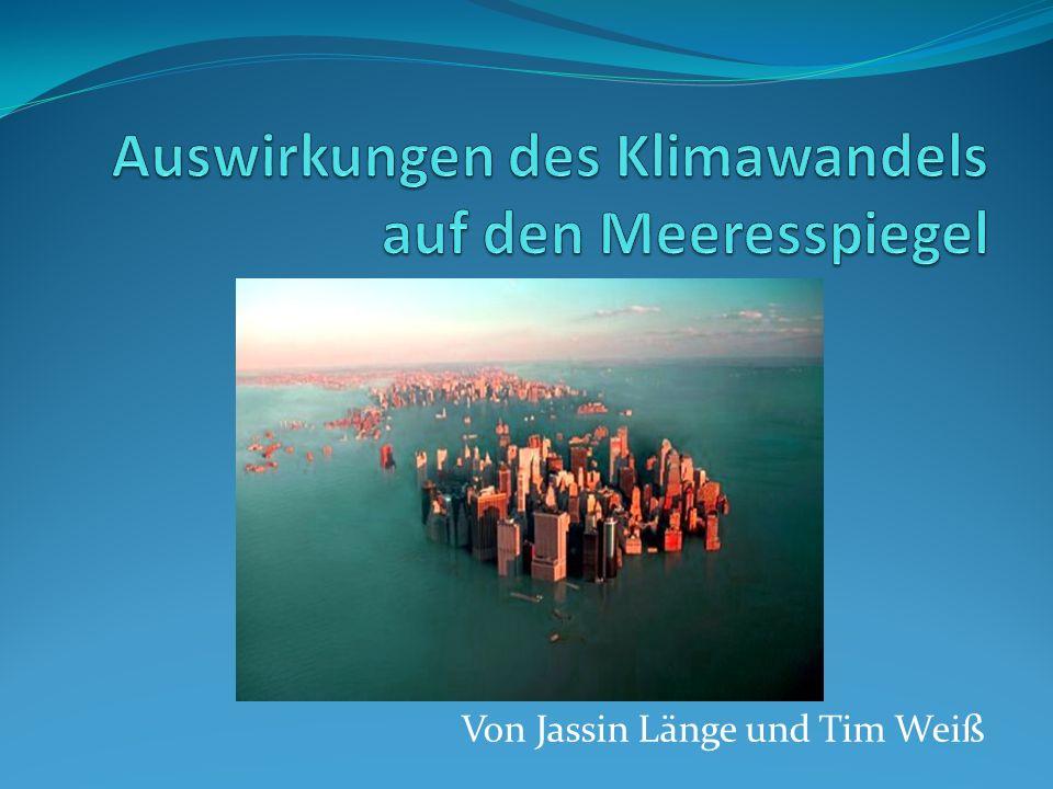 Auswirkungen des Klimawandels auf den Meeresspiegel