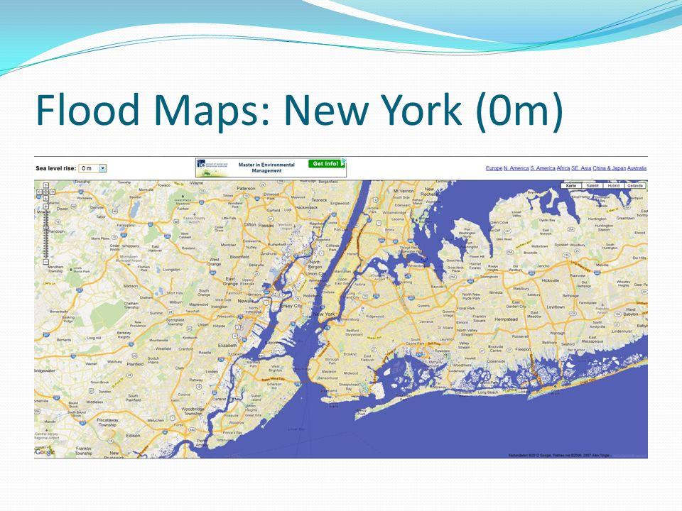 Flood Maps: New York (0m)