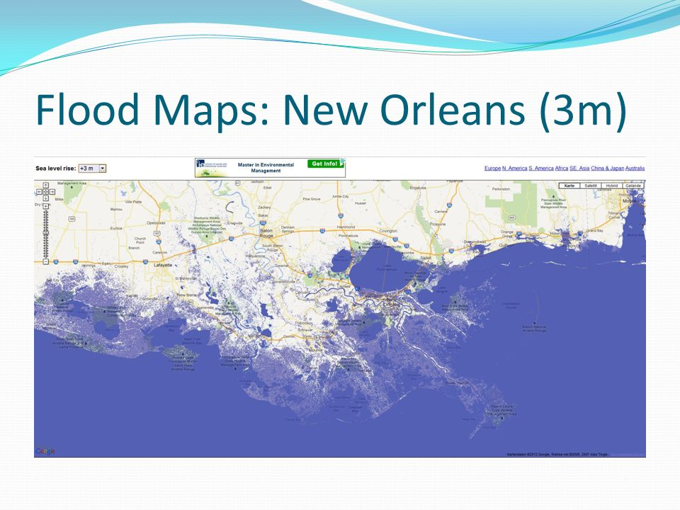 Flood Maps: New Orleans (3m)