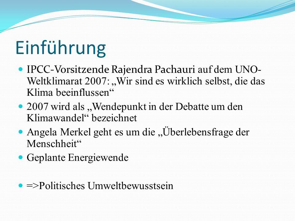 """Einführung IPCC-Vorsitzende Rajendra Pachauri auf dem UNO-Weltklimarat 2007: """"Wir sind es wirklich selbst, die das Klima beeinflussen"""