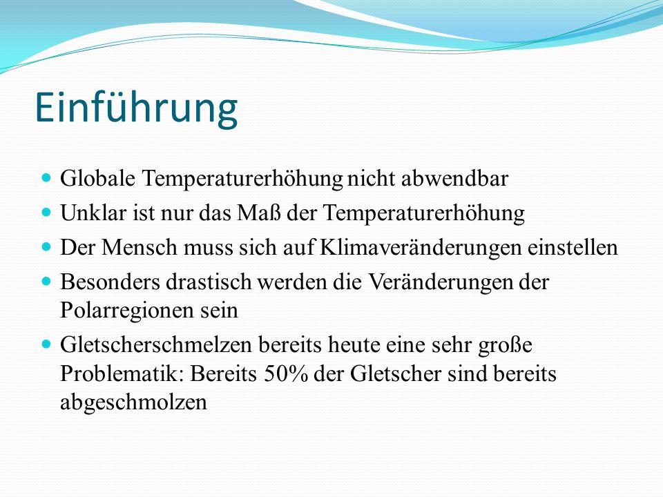 Einführung Globale Temperaturerhöhung nicht abwendbar