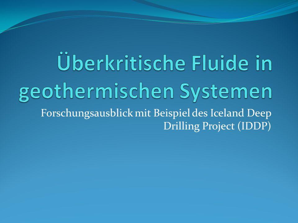 Überkritische Fluide in geothermischen Systemen