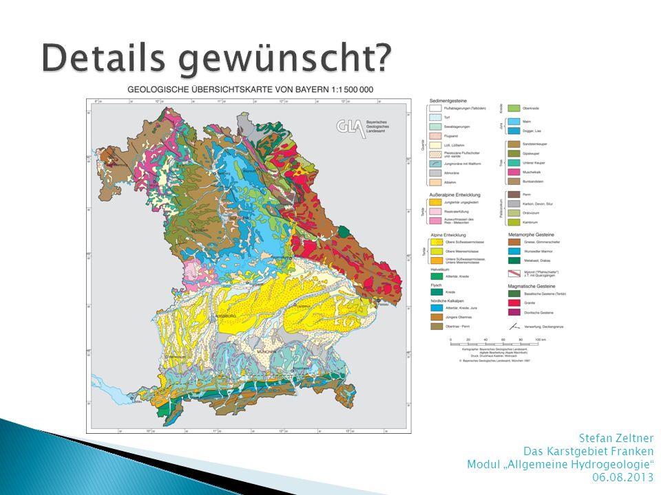 Details gewünscht Stefan Zeltner Das Karstgebiet Franken