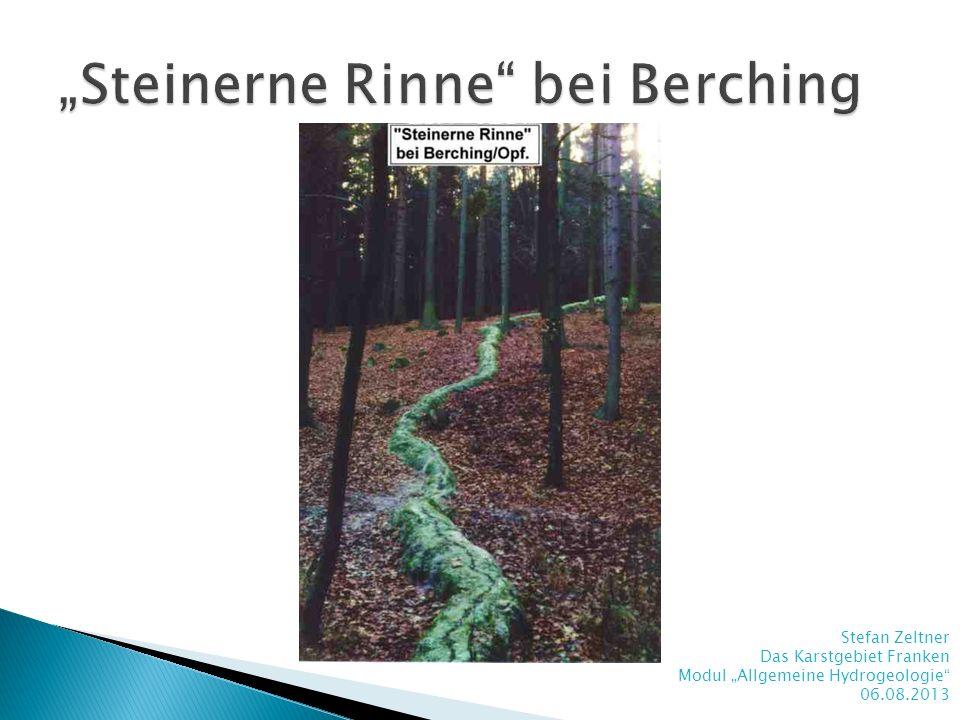 """""""Steinerne Rinne bei Berching"""