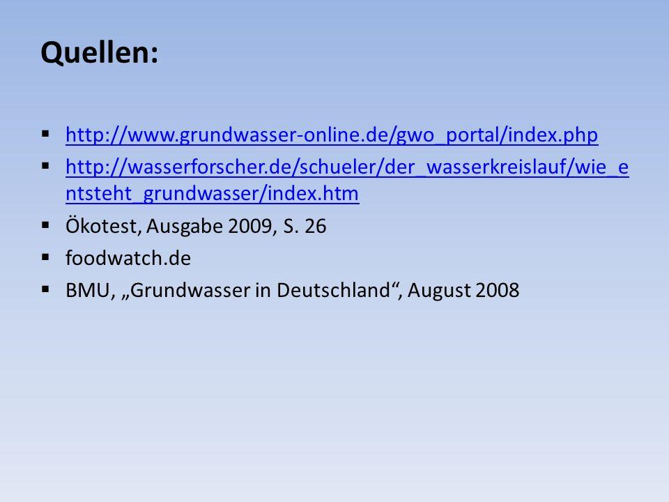 Quellen: http://www.grundwasser-online.de/gwo_portal/index.php